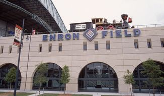 Enron Field (Getty Images/File)