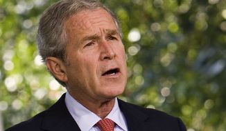 **FILE** Former President George W. Bush (Associated Press)