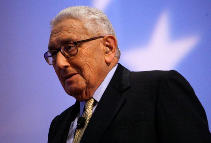 **FILE** Former Secretary of State Henry Kissinger