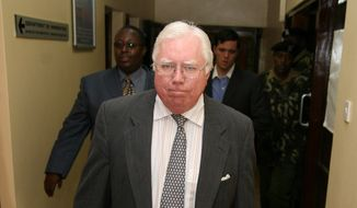 "Jerome Corsi, author of ""The Obama Nation: Leftist Politics and the Cult of Personality,"" was deported Tuesday from Kenya for not having a work permit, just hours before the debut of his book there."
