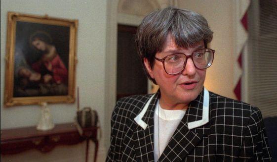 Sister Helen Prejean (Associated Press) ** FILE **