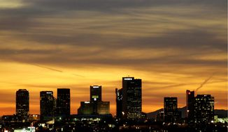 The Phoenix skyline (Associated Press)