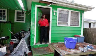 **FILE** Sandra Marshall's home was damaged by Hurricane Katrina. (Associated Press)