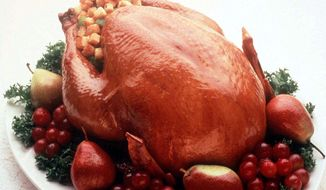 Rusty Humphries' World Famous Flash Cooked Roast Turkey recipe -- politics included. (ASSOCIATED PRESS)