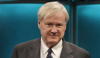 "MSNBC ""Hardball"" host Chris Matthews. (Associated Press) ** FILE **"