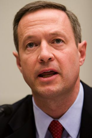 **FILE** Gov. Martin O'Malley