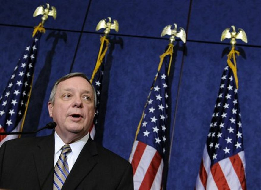 **FILE** Sen. Richard J. Durbin, Illinois Democrat