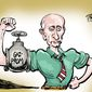 Putin gas muscle/Russian energy Gazprom Russian/Ukraine