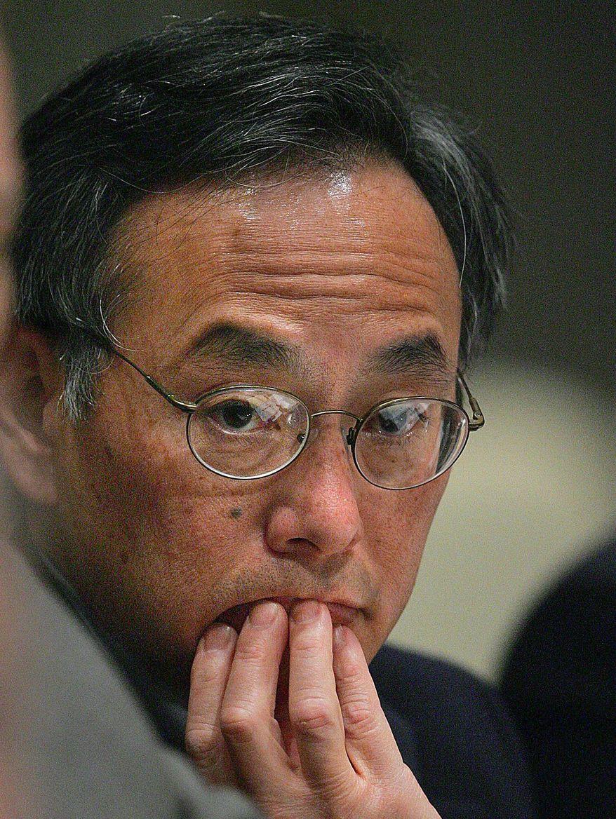 ** FILE ** Energy Secretary Steven Chu. (Associated Press)