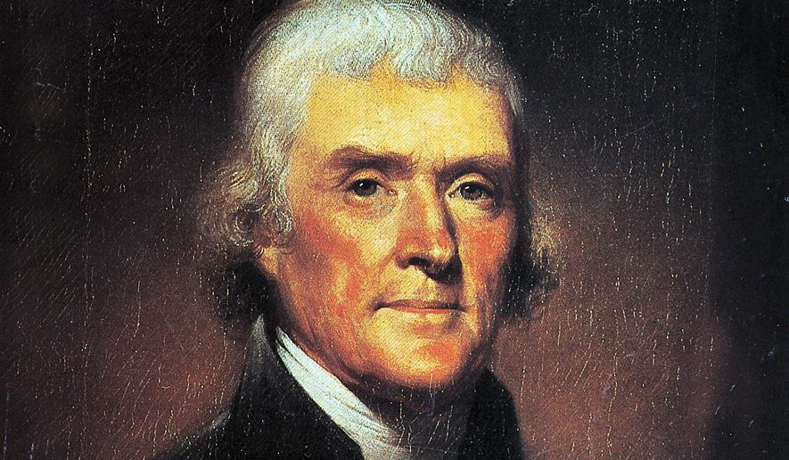 President Thomas Jefferson (Associated Press)