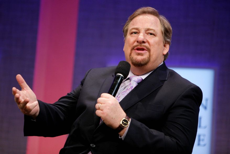 The Rev. Rick Warren is pastor of the Saddleback Valley Community Church in Southern California. (Associated Press)