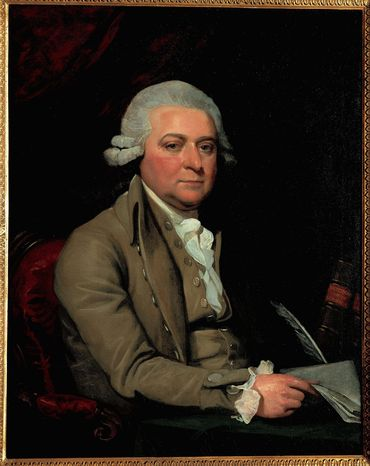 """John Adams, the first to hold the job, dismissed the vice presidency as """"the most insignificant office"""" ever invented. Mather Brown's oil painting of Adams was finished in 1788, while the future vice president was serving as a diplomat."""
