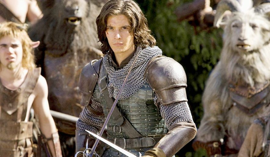 """A scene from the popular film series """"The Chronicles of Narnia"""" series."""