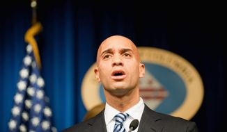 **FILE** D.C. Mayor Adrian M. Fenty (The Washington Times)
