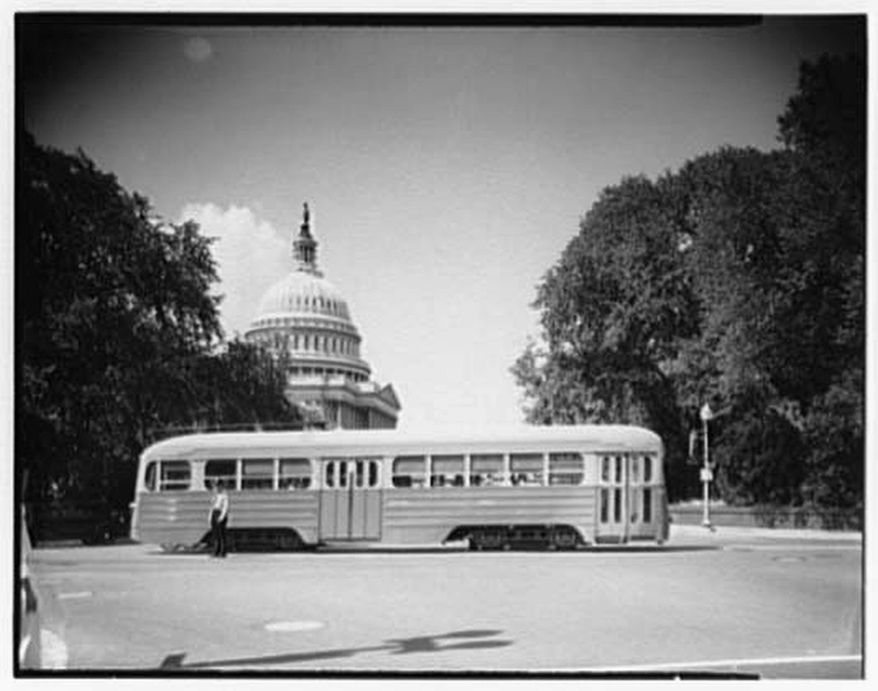 LIBRARY OF CONGRESS Streetcars once served residents of the District, but lost out to buses and cars. Now they might be about to make a comeback.