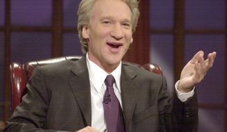"**FILE** Since the salad days of ABC's ""Politically Incorrect,"" which minted countless right-wing pundits and best-selling authors, conservatives have rightly assessed the HBO version of the Bill Maher show as R-rated and shockingly hostile to their worldview. (Associated Press)"