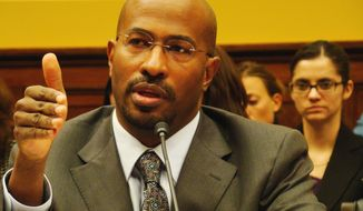 ** FILE ** Van Jones focused on green jobs, enterprise and innovation as a special adviser on the Council on Environmental Quality.