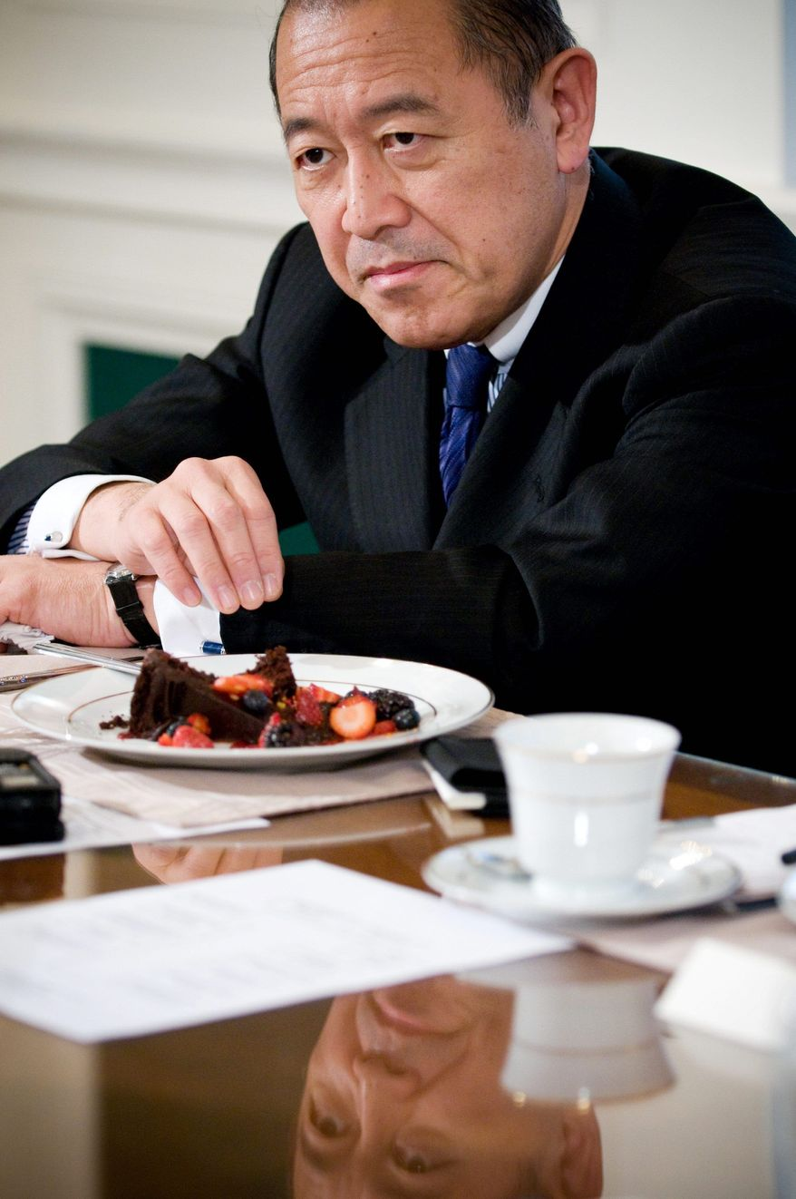 **FILE** Japanese Ambassador Ichiro Fujisaki (The Washington Times)
