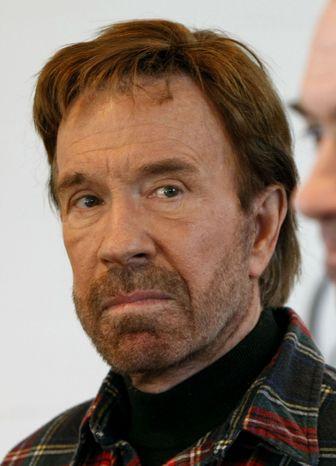 Chuck Norris (Associated Press) **FILE**