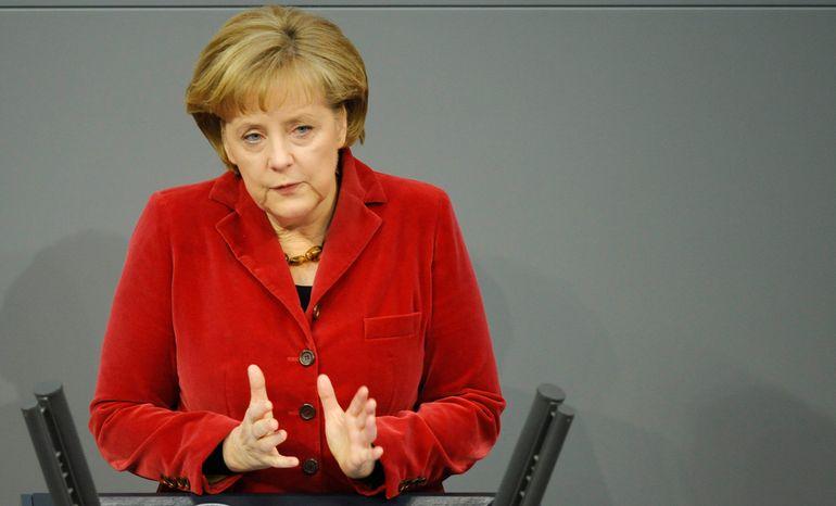 **FILE** German Chancellor Angela Merkel