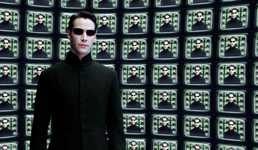 """Keanu Reeves stars as Neo in """"The Matrix Reloaded."""" ** FILE **"""