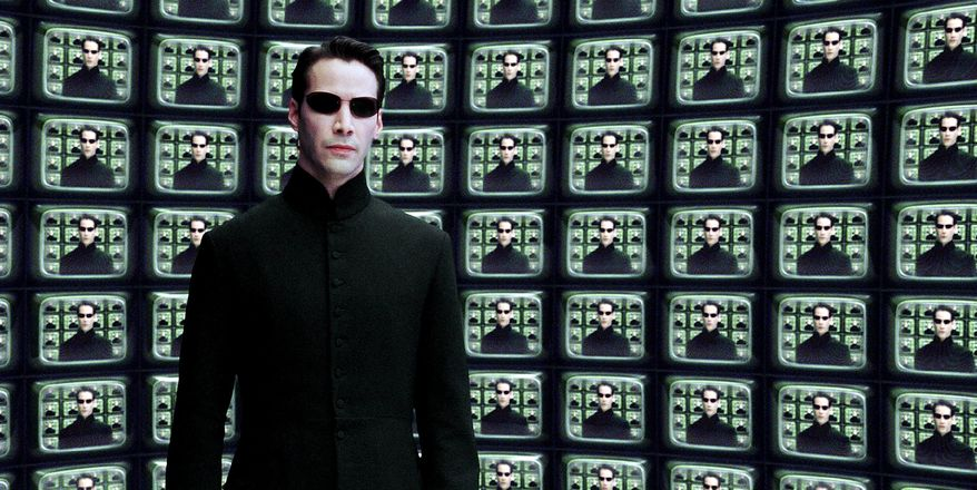 "Keanu Reeves stars as Neo in ""The Matrix Reloaded."" ** FILE **"