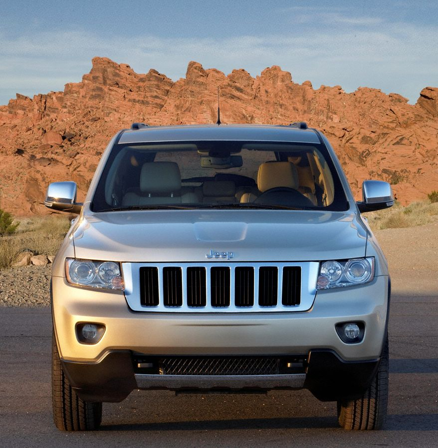 In this photo released by Chrysler Corp., a 2011 Jeep Grand Cherokee is shown. (Associated Press/Chrysler Corp.)