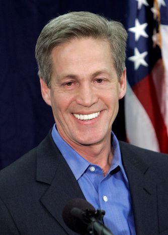 ** FILE ** Former Sen. Norm Coleman, Minnesota Republican (AP Photo/Jim Mone)