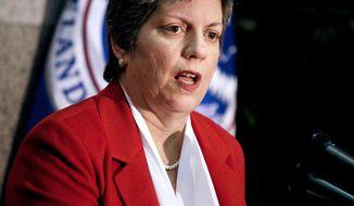 **FILE** Homeland Security Secretary Janet Napolitano