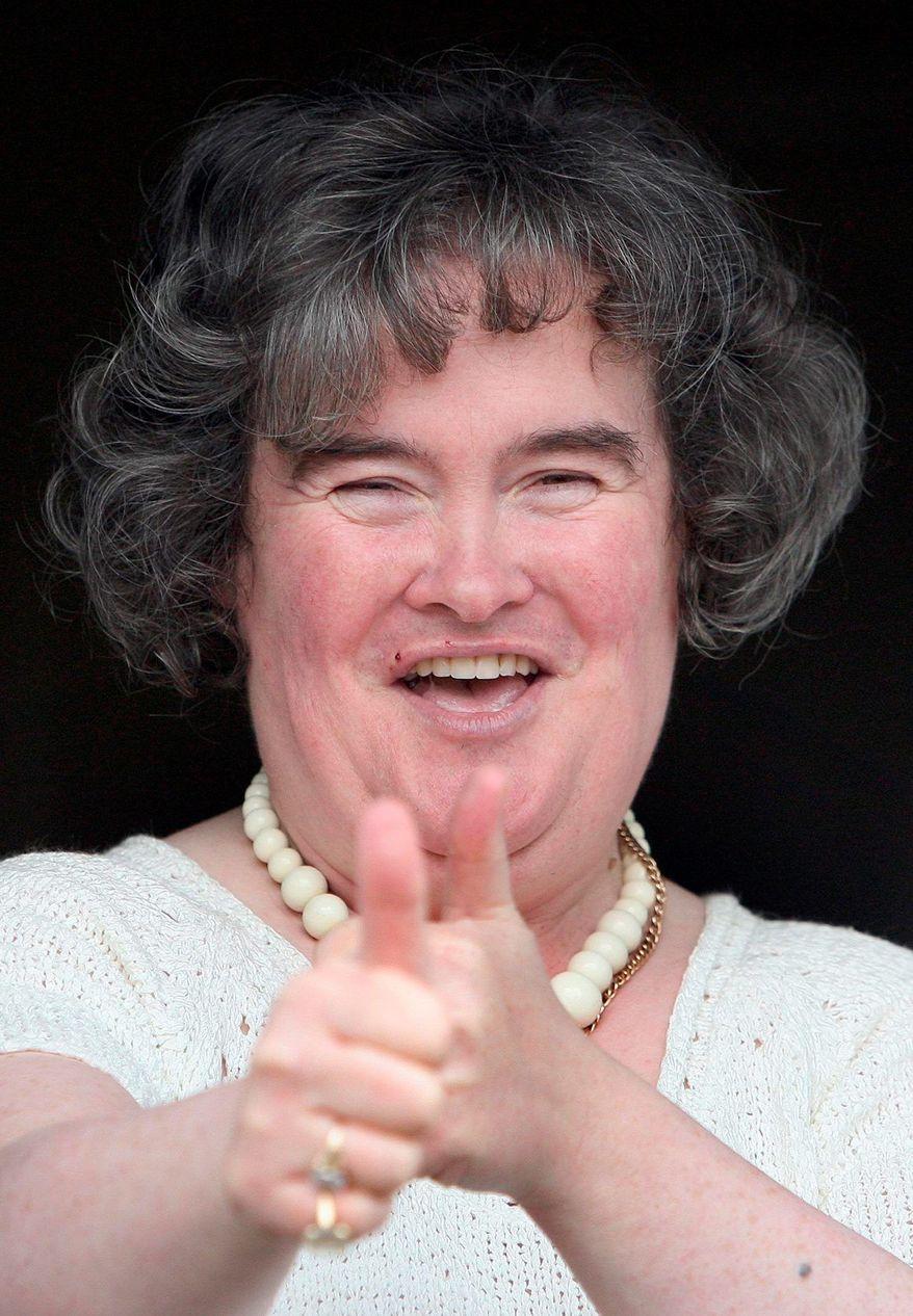 Susan Boyle (Associated Press)