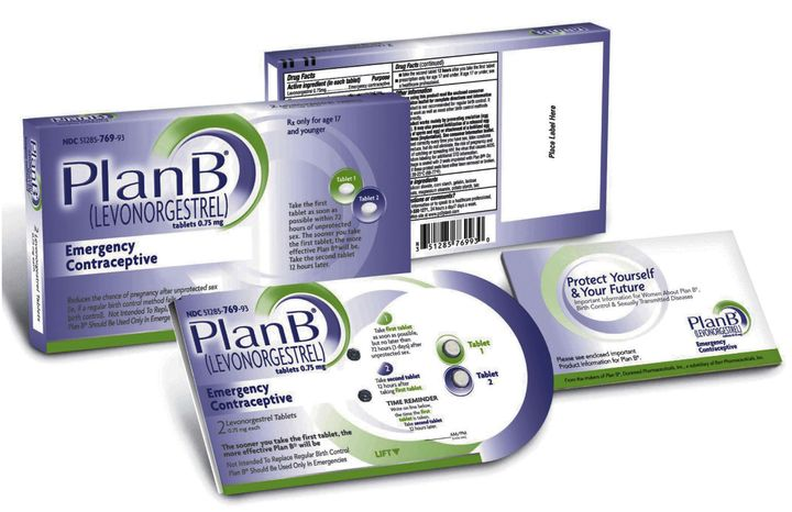 "**FILE** This image provided by Barr Pharmaceuticals Inc., shows the packaging for the ""Plan B"" pill. (Associated Press)"