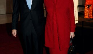 **FILE** Sen. Dianne Feinstein and husband Richard Blum (Katie Falkenberg/The Washington Times)
