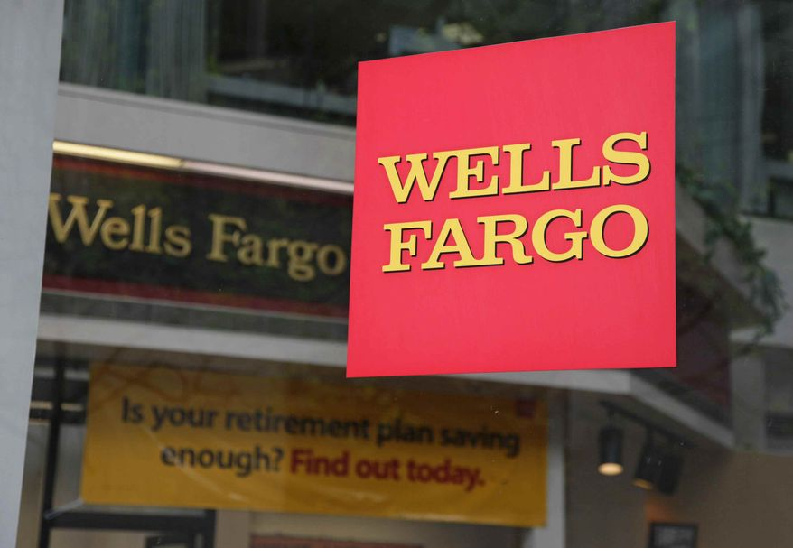 ** FILE ** A branch of Wells Fargo Bank is shown in San Francisco in 2009.