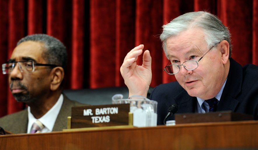 Rep. Joe Barton. (Associated Press) ** FILE **