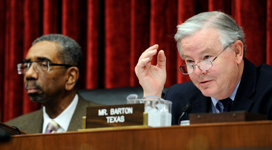 Rep. Joe Barton. (Associated Press) ** FILE **
