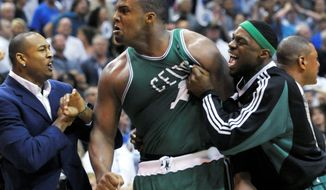 Associated Press Boston's Glen Davis scored the game-winning basket in Sunday's victory over Orlando.