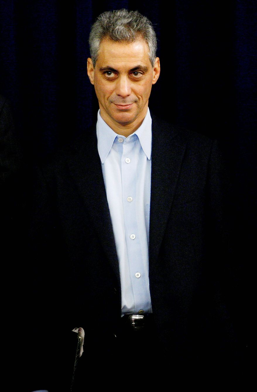 White House Chief of Staff Rahm Emanuel (AP Photo)