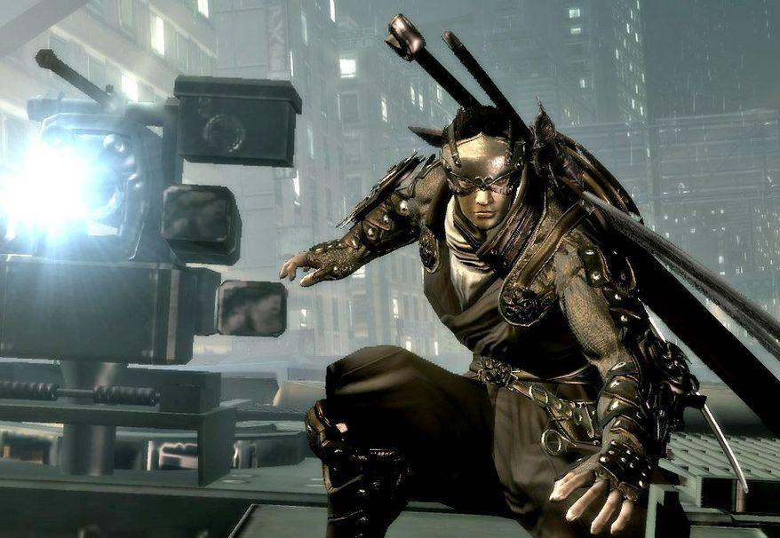 Ken Ogawa stars Ninja Blade, which is set in the near future in Tokyo. (Courtesy of Microsoft Game Studios)