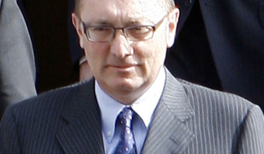 Former U.S. Assistant Secretary of State Jeffrey Feltman is shown in this 2009 file photo. On Friday, April 23, 2021, U.S. Secretary of State Antony Blinken announced that Mr. Feltman, a career diplomat, would serve as the State Department's special envoy for the Horn of Africa. (Associated Press) **FILE**