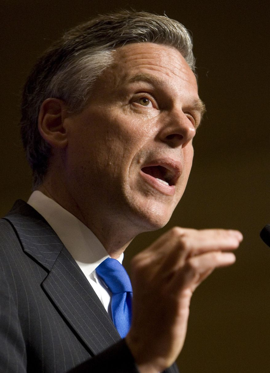 **FILE** Utah Gov. Jon Huntsman (Associated Press)