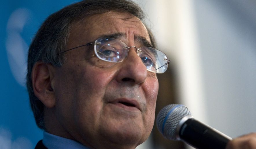 ** FILE ** Leon E. Panetta, director of central intelligence, delivers a speech at a Pacific Council of International Policy event in Los Angeles on Monday, May 18, 2009. (AP Photo/Hector Mata)
