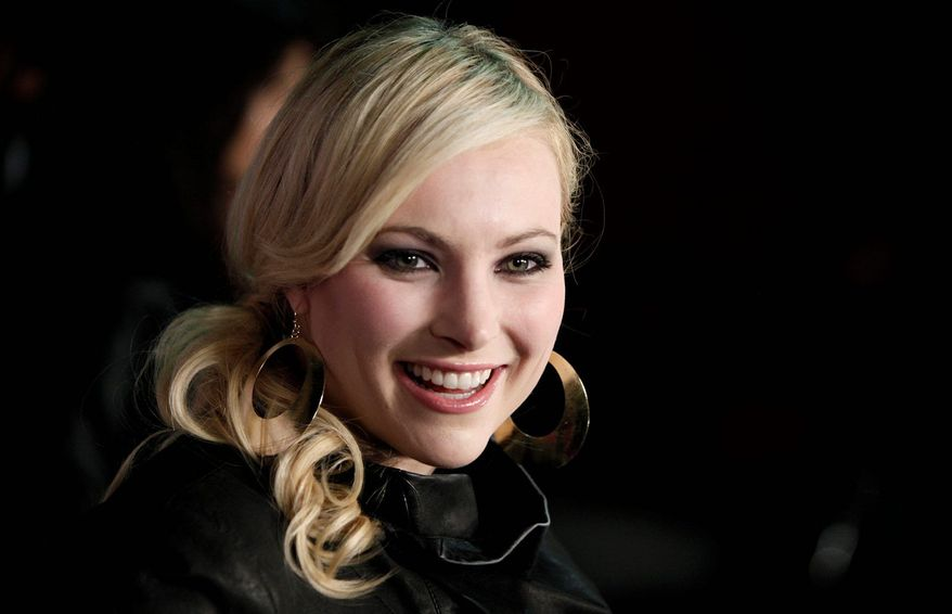** FILE ** Meghan McCain. (Associated Press)