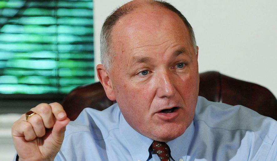 Former Rep. Pete Hoekstra, Michigan Republican. (The Washington Times) ** FILE **