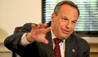 **FILE** Former San Diego Mayor Bob Filner, California Democrat (The Washington Times)