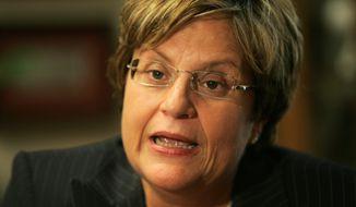 Rep. Ileana Ros-Lehtinen, Florida Republican. (AP) ** FILE **