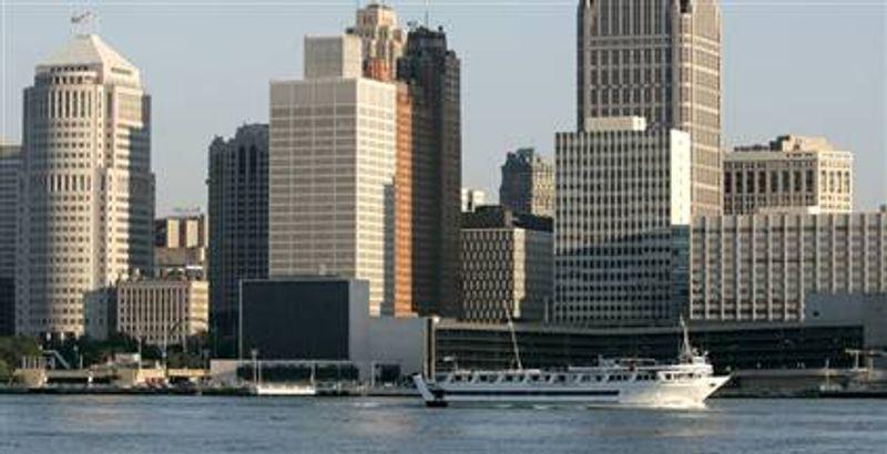 The Detroit skyline (AP Photo)