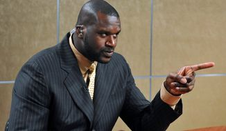 Associated Press Shaquille O'Neal is taking broadcasting classes at Syracuse University.