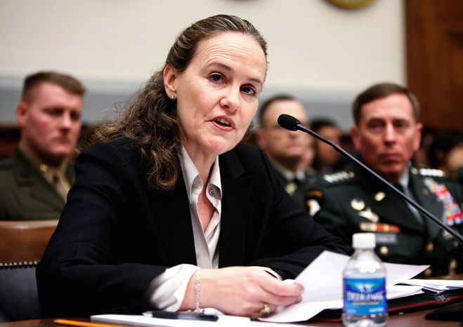 **FILE** Michele Flournoy was under secretary of defense for policy. (AP Photo)