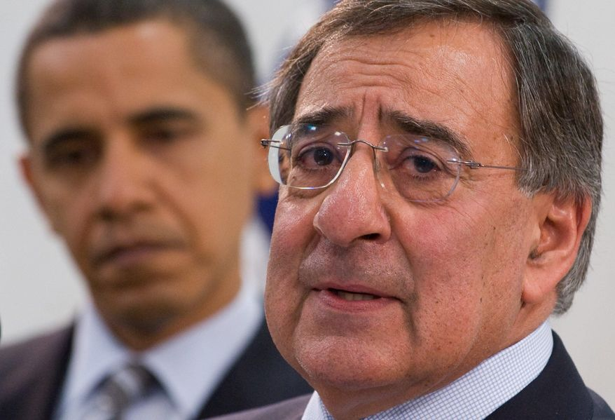**FILE** Leon Panetta (right), director of the Central Intelligence Agency, and President Obama (Agence France-Presse/Getty Images)