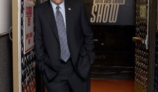 "In this 2009 image released by NBC, Jay Leno, host of ""The Tonight Show With Jay Leno,"" is shown."